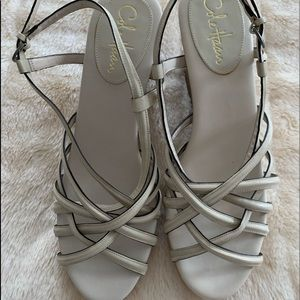 Cole Haan Nike Air Strappy Wedge Sandals